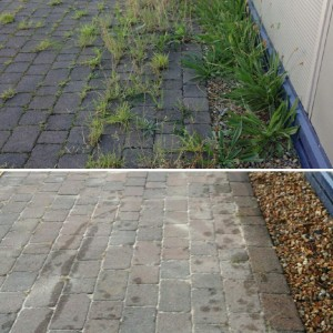 domestic driveway cleaning